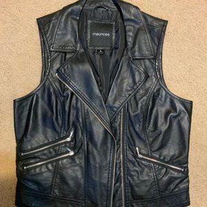 Maurice's Faux Leather Vest
